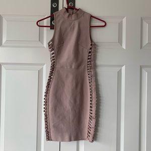 Bandage dress with cutouts